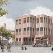 Viviendas y talleres en Poblenou, Barcelona. A Architecture, Interior Architecture, Architectural illustration, and ArchVIZ project by Architecture On Paper - 04.10.2021
