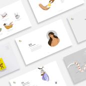 Kit by Purple Rain Nutrition. Un proyecto de Br, ing e Identidad, Diseño editorial e Ilustración editorial de Sofía Saravia Ocaña - 23.05.2020