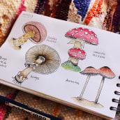 Mi Proyecto del curso: Cuaderno botánico en acuarela ASI VA MI CUADERNO BOTANICO :). Un progetto di Illustrazione botanica di Natalia Molina Rico - 11.04.2021