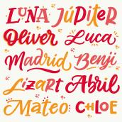 Letras Digitales. Un proyecto de Ilustración, Lettering, Lettering digital y Dibujo digital de Emilia Emme - 11.04.2021