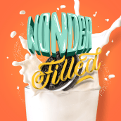Wonder Filled Oreo personal . A Lettering, Digitales Lettering, H und Lettering project by Nubia Navarro (nubikini) - 12.04.2021
