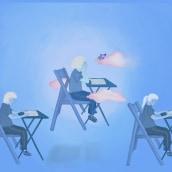 Querida imaginación, déjame estudiar. . A Illustration, Digital illustration, and Children's Illustration project by Magdalena Balart tomicic - 04.12.2021
