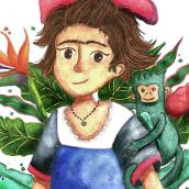 Mi Proyecto del curso: Técnicas de acuarela para ilustraciones de ensueño. Un progetto di Illustrazione infantile di Natalia Molina Rico - 12.04.2021