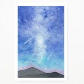 Mis Galaxias. Un projet de Illustration, Peinture , et Aquarelle de Javiera Videla - 26.12.2019