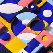 Applied Color for 3D Design and Animation course. Un projet de Illustration, Publicité, 3D, Animation, Création de motifs, Animation 3D, Modélisation 3D, Conception 3D, Correction des couleurs, Design pour les réseaux sociaux , et Théorie des couleurs de Dan Zucco - 15.04.2021