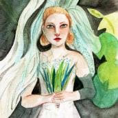 Cinema ilustrado. A Illustration, Malerei, Kino, Zeichnung, Aquarellmalerei und Porträtillustration project by Chel Salinas - 17.04.2021