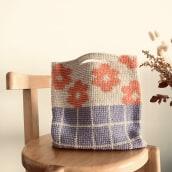 Mollie Makes magazine Issue 128 . Un projet de Design  , et Tissage de Fabric - 19.04.2021