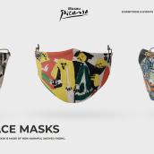 Landing Page Face Masks. Un proyecto de Diseño de producto y UI / UX de Jénnifer González - 03.01.2021