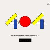 404 Error Page. Un proyecto de Diseño gráfico y UI / UX de Jénnifer González - 19.11.2020