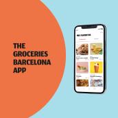 The Groceries Barcelona App. Un proyecto de UI / UX de Jénnifer González - 20.04.2021