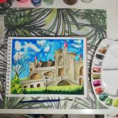 Mi Proyecto del curso: Cuaderno de viaje en acuarela. A Architecture, and Drawing project by Laura Garnica - 04.20.2021