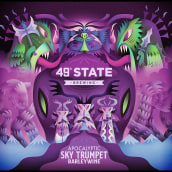 49th State Brewing. A Illustration, Packaging, Vector Illustration, and Digital illustration project by Nathan Jurevicius - 04.21.2021