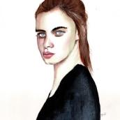 My project in Watercolor Portrait from a Photo course. Un progetto di Pittura ad acquerello di Thomas Björnberg - 21.04.2021