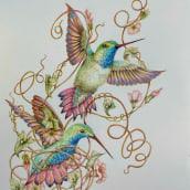 My project in Surrealist Illustration Inspired by Nature course. Un proyecto de Ilustración, Bellas Artes, Bocetado, Creatividad, Dibujo a lápiz, Dibujo, Dibujo realista y Dibujo artístico de Colette Reed - 21.04.2021