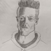 My project in Caricature Portrait with Graphite course. Un proyecto de Humor gráfico de Sanil Pandit - 22.04.2021