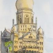 My Final Project. Un proyecto de Bocetado, Pintura a la acuarela e Ilustración arquitectónica de Sanil Pandit - 23.04.2021