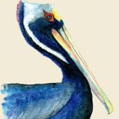 Pelicano, un viaje a México.. Un proyecto de Ilustración de Iana perez nollet - 24.04.2021