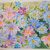 Mi Proyecto del curso: Técnicas modernas de acuarela. A Watercolor Painting project by Nora A Conti Liesac - 04.25.2021