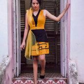 Project 3 - Fashion collection. Un proyecto de Diseño, Fotografía, Diseño de complementos, Moda, Diseño de jo, as, Retoque fotográfico, Bocetado, Diseño de moda, Diseño de moda, Fotografía con móviles, Fotografía de moda, Costura, Fotografía digital, Fotografía publicitaria, Fotografía para Instagram y Dibujo anatómico de Marly Gomes - 29.01.2021