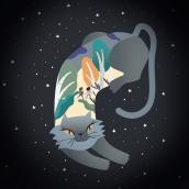 La cueva de los animales invisibles. Un projet de Illustration jeunesse de Carla Soliz Cronenbold - 10.04.2021