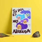 Chicas Cuarentena. Un projet de Illustration de Carla Soliz Cronenbold - 23.04.2021