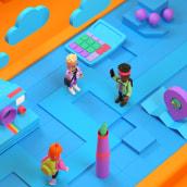 Feira de Cursos - Univates. Un proyecto de Ilustración y 3D de Dan Cristian - 26.04.2021