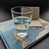 """Percepções de um """"copo meio cheio"""". A Writing project by Bruna Saliba - 04.28.2021"""