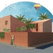 Mi Proyecto del curso: Representación gráfica de proyectos arquitectónicos. A Architecture, Digital architecture, and Digital Drawing project by Florencia Morales - 08.08.2020