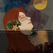 Sirena. Un proyecto de Ilustración digital de Carmen Herrero - 29.04.2021
