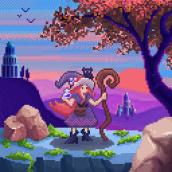 Mi Proyecto del curso: Introducción al diseño de personajes en pixel art. Um projeto de Ilustração, Animação, Design de personagens, Design de jogos, Animação 2D e Ilustração digital de María Parra - 01.05.2021