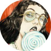 Gucci Collage. Un proyecto de Ilustración, Moda, Pintura, Collage y Dibujo de Connie Lim - 28.04.2021