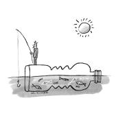 GENTLEMAN Mag. Futuro y sostenibilidad. A Illustration, Editorial Design, and Digital Drawing project by Del Hambre - 05.04.2021
