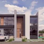 Casa Pacora - Chocaya, Lima. Un progetto di Architettura, Modellazione 3D , e ArchVIZ di Giancarlo Pava Durand - 04.05.2021