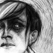 Cesare en proceso .... Un proyecto de Dibujo de Retrato y Dibujo digital de ALFONSO OSORIO - 06.05.2021