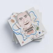 Ilustración editorial para adultos 'Los mayores cuentan'. Un projet de Illustration numérique, Illustration de portrait et Illustration éditoriale de Raquel Feria Legrand - 06.05.2021