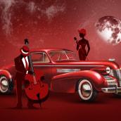 Red Jazzy Mood. Un proyecto de Diseño gráfico de Alexander Nikolov - 06.05.2021