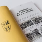 100 anys d'història. C. F. Capellades. A Editorial Design, and Graphic Design project by Anna Costa - 05.07.2021