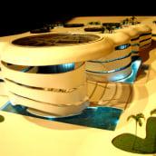ARAB SAT OFFICE. A Architektur project by Luis Penfold - MQT maquetas - 07.05.2021