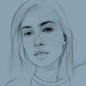 En proceso ... . Un proyecto de Dibujo de Retrato y Dibujo digital de ALFONSO OSORIO - 09.05.2021