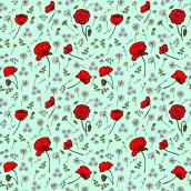 Mi Proyecto del curso: Ilustración vectorial de patrones desde cero. Un proyecto de Pattern Design, Dibujo digital y Teñido Textil de Raúl Soto - 10.05.2021