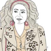 Catherine Deneuve. Cinemanía. Un proyecto de Ilustración de Olalla Ruiz - 01.05.2021
