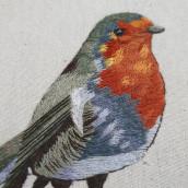 Proyecto del curso   Pintar con hilo: Técnicas de Ilustración Textil de Gimena Romero. Um projeto de Bordado de Ana De la Rosa - 03.04.2021