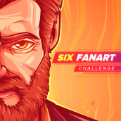 Six Fanarts (2020). A Illustration, Vector Illustration, and Digital illustration project by Andy Velásquez - 04.29.2020