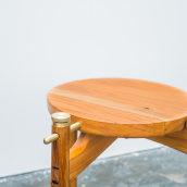 Mesa Lateral Dome. Un projet de Design , Fabrication de meubles, Design industriel, Conception de produits , et Charpenterie de Danillo Faria - 29.06.2018
