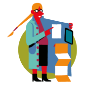SANTILLANA DEUTSCH. A Illustration, Education, and Web Design project by Daniel Montero Galán - 05.15.2021