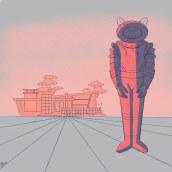 My project in Creative Composition for Illustration with Procreate course. Un progetto di Illustrazione, Creatività, Illustrazione digitale , e Disegno digitale di Dietrich Adonis (Ordoñez) - 16.05.2021