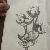 My project in Daily Sketching for Creative Inspiration course. Un proyecto de Bocetado, Creatividad, Dibujo y Sketchbook de Deepika Baghel - 21.05.2021