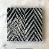 My project in Texture Design with Chocolate course. Un progetto di Design , e DIY di BRIK chocolate - 26.03.2021