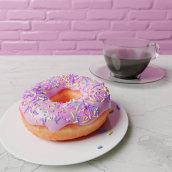 Blender Guru's Donut Tutorial. A 3D, and 3D Animation project by Saul Ivan Rivas Vega - 05.09.2021