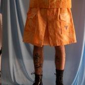 Tie Dye Set. Un projet de Mode, St, lisme, Photographie de mode, Couture , et Teinture textile de Peter Wasp - 24.05.2021